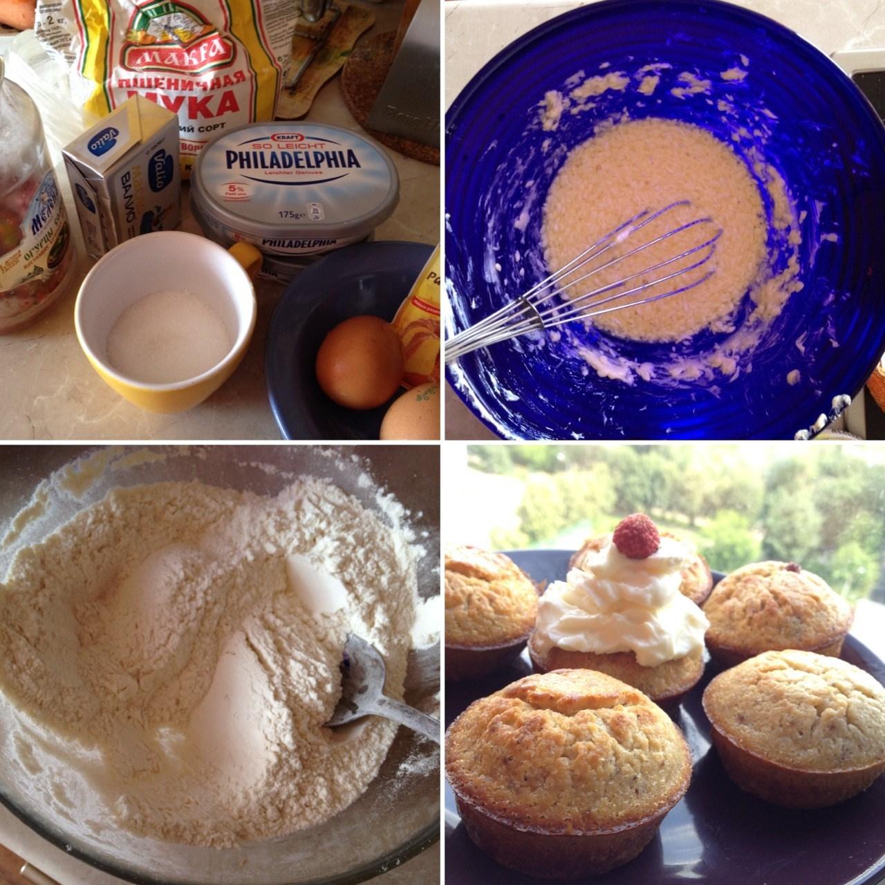 Сырный крем для капкейков рецепт пошагово в