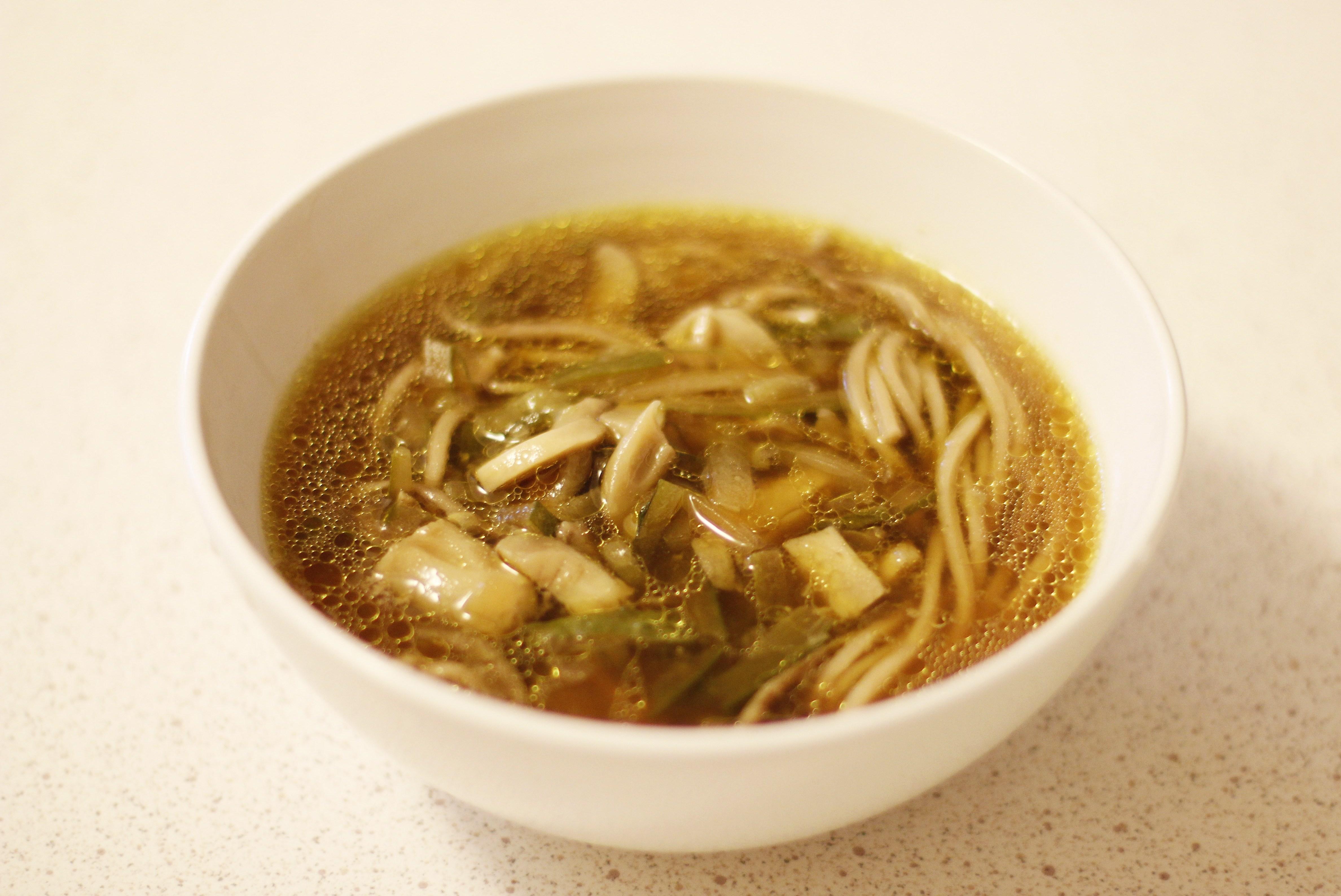 рецепт китайского супа с грибами и овощами