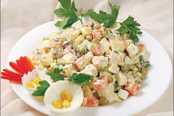 салат столичный рецепт с фото