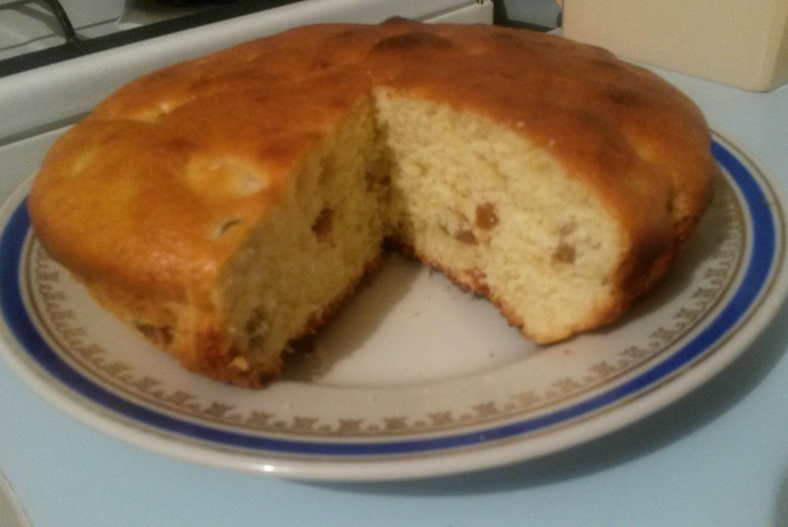 Рецепт пирога с черносливом и курагой рецепт