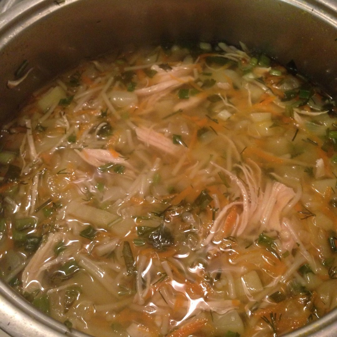 Суп с вермишелью на воде рецепт пошагово