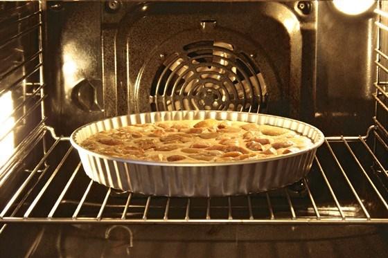 Яблочный пирог с в духовке