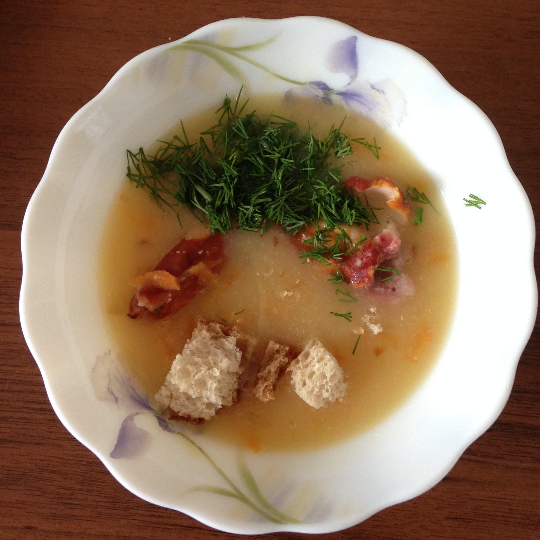 Гороховый суп с копчеными крылышками рецепт с фото 96
