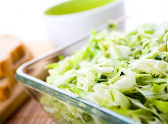 салат из белокочанной капусты рецепт