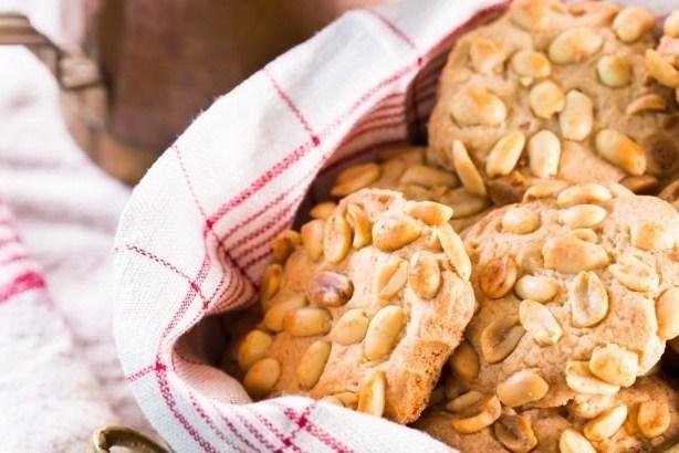 печенье с арахисом и сметаной рецепт с фото
