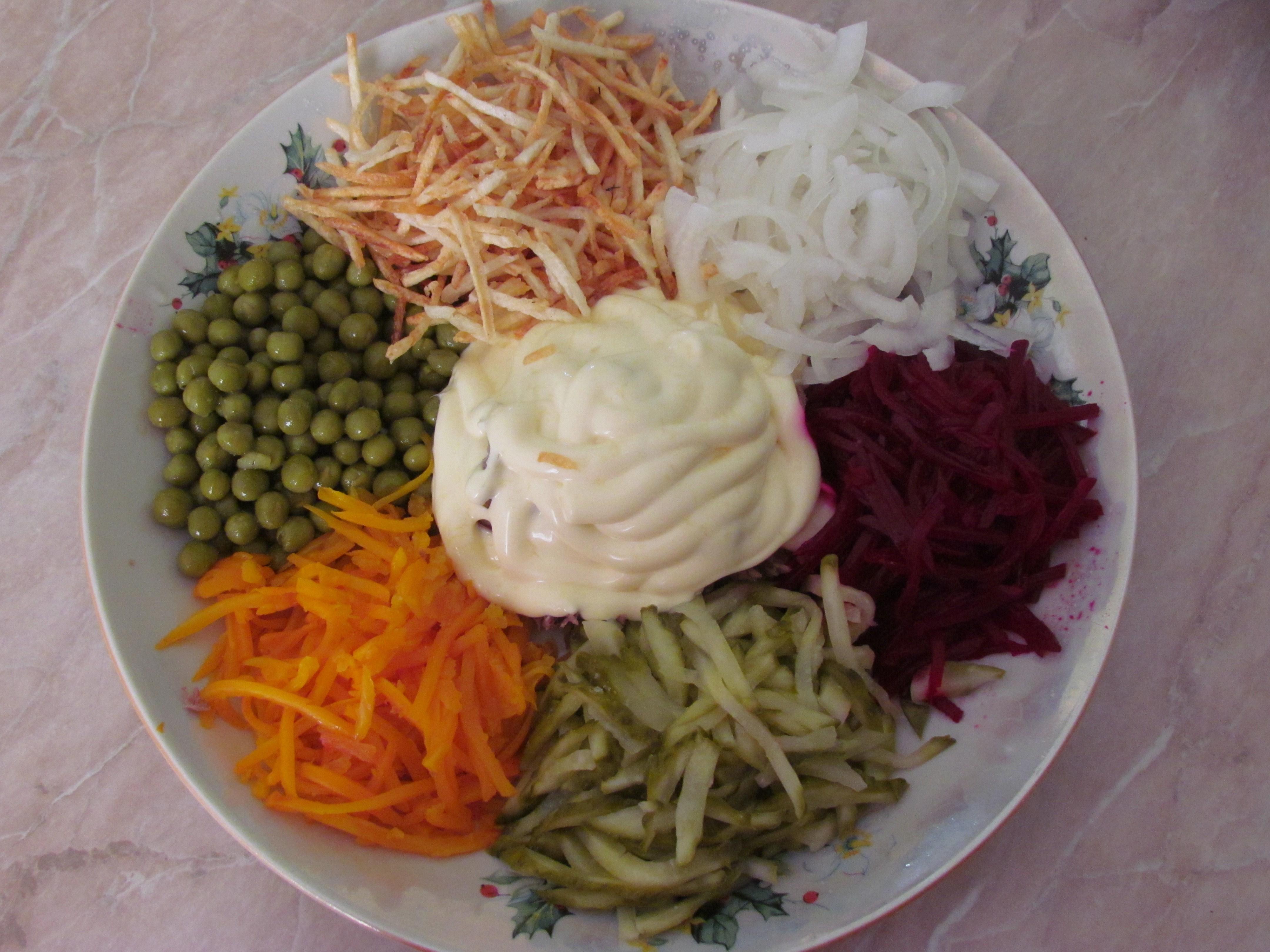 Салат чафан без майонеза рецепт пошагово