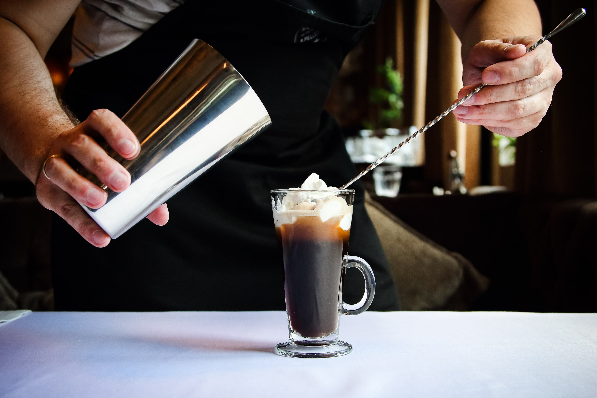 Irish coffee (Ирландский кофе)