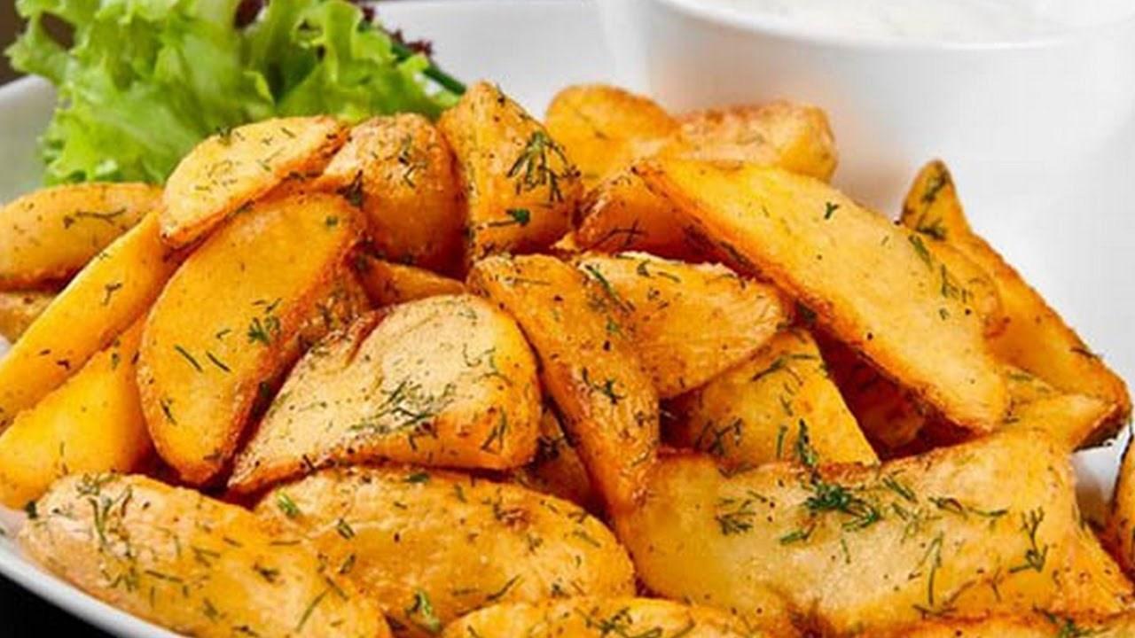 резанный картофель в духовке рецепты