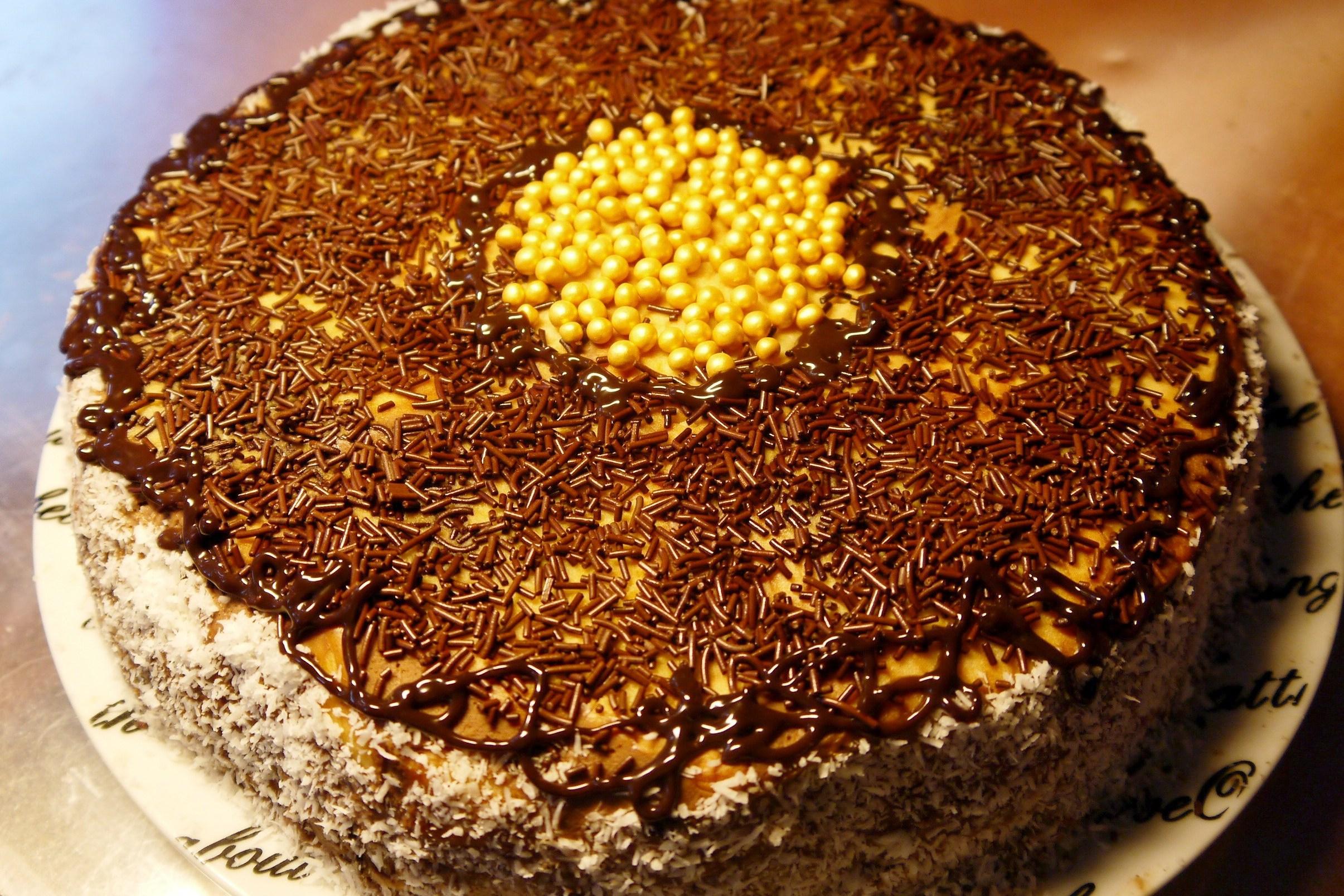 Шоколадные торты пошагово без выпечки