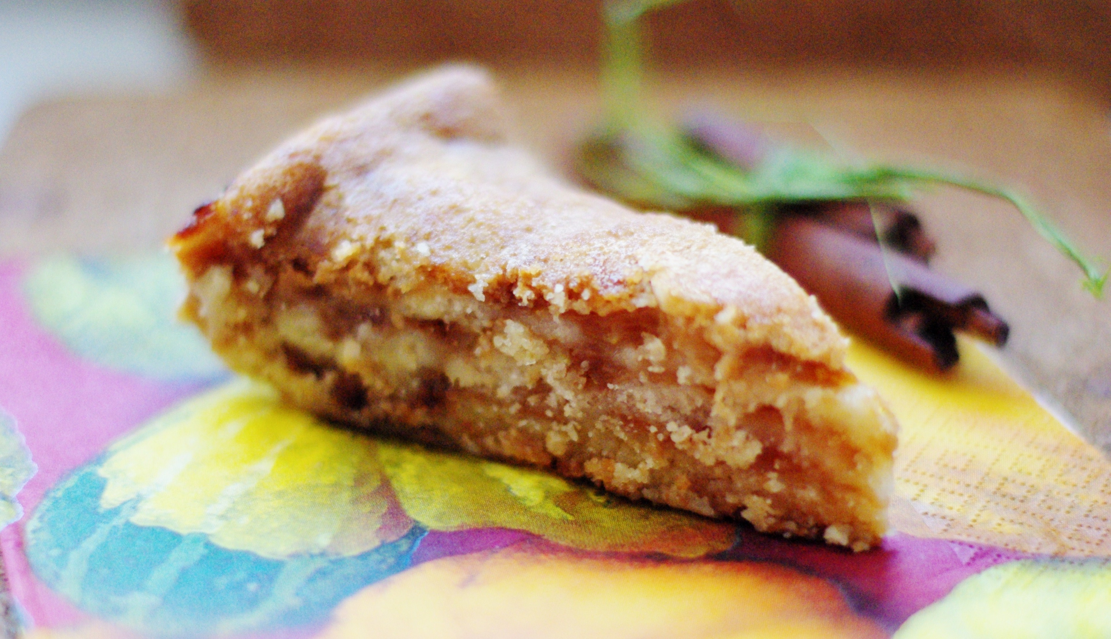 Пирог с яблоками из манки рецепт с пошагово