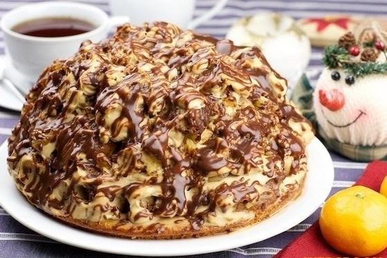 бисквитный торт со с етанным кремом рецепт с фото