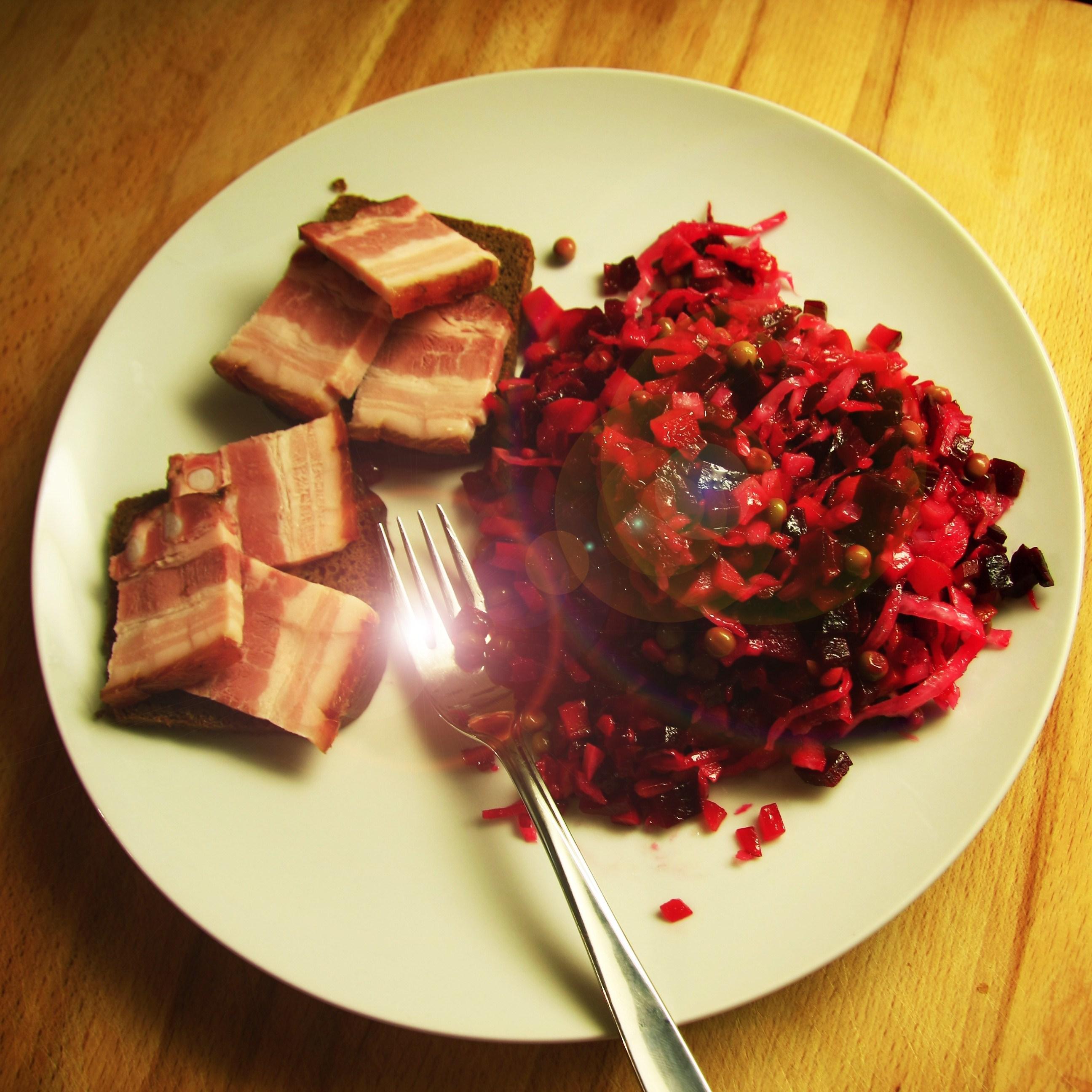 Винегрет: калорийность на 100 грамм с маслом и картошкой. Можно ли при похудении есть винегрет