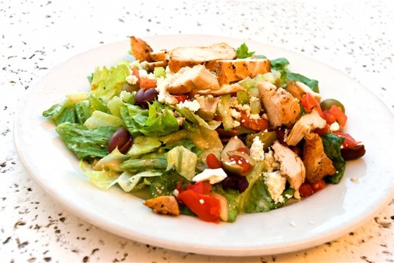 рецепт салат цезарь с курицей и сыром фета