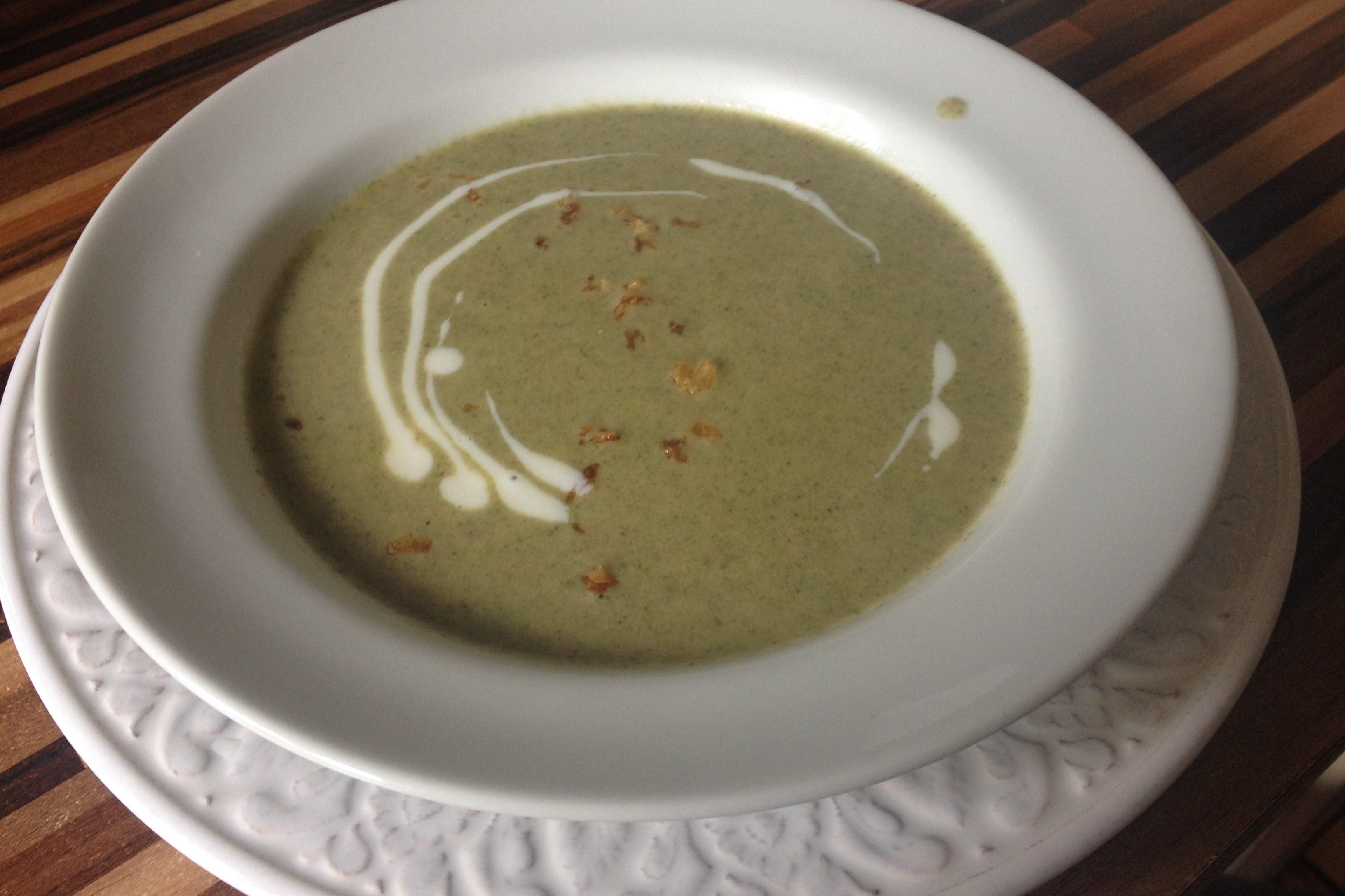 Крем-суп из шампиньонов: быстро и вкусно