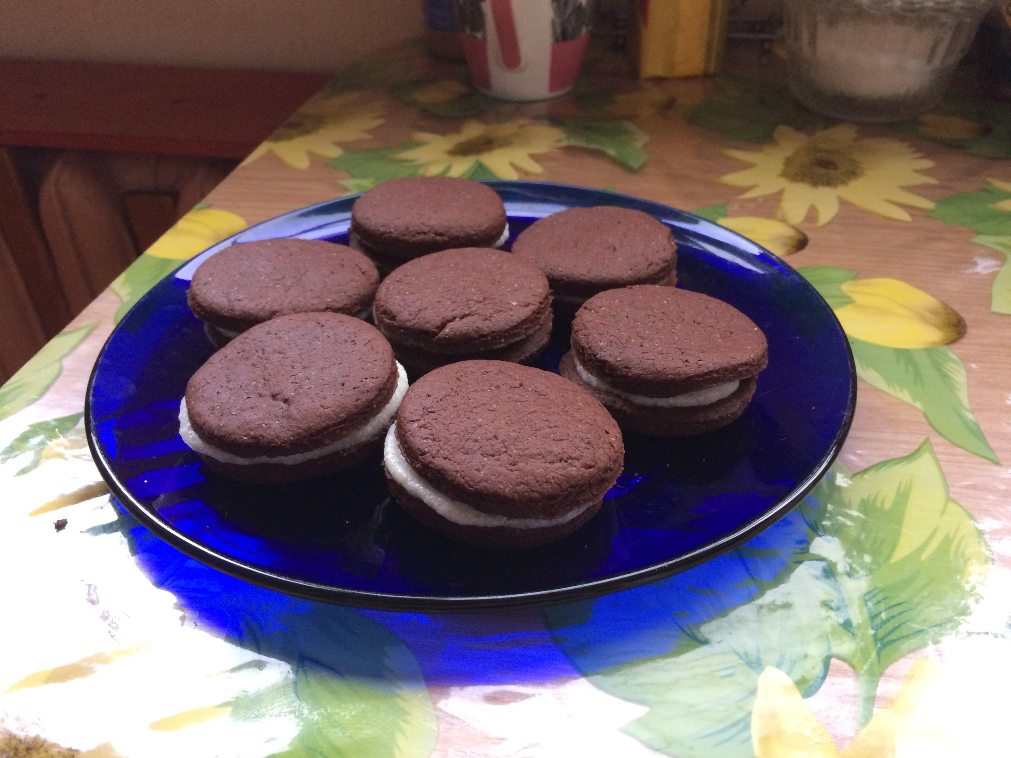 Как сделать печенье орео в домашних условиях