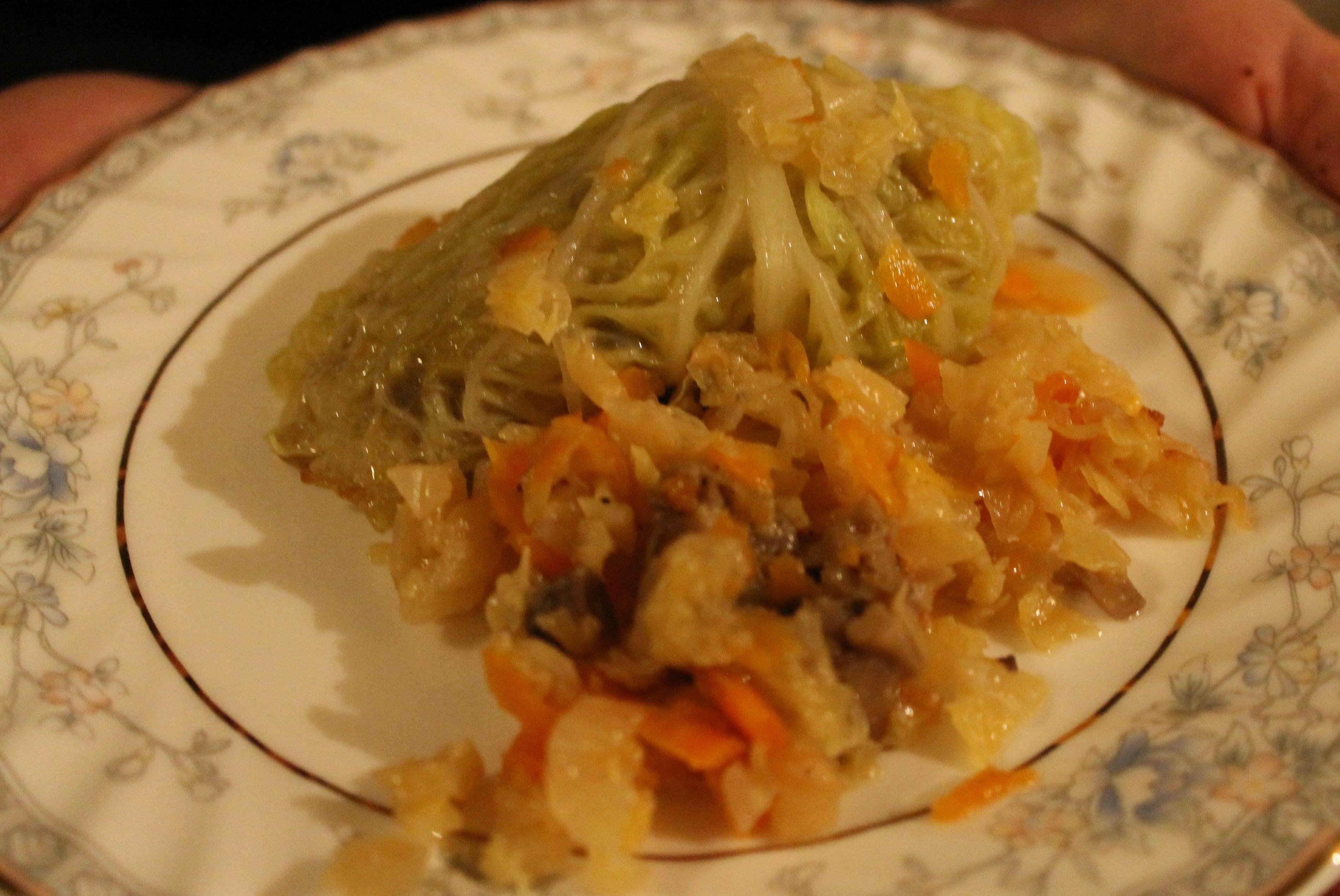 рецепт кабачков с лесными грибами без мяса