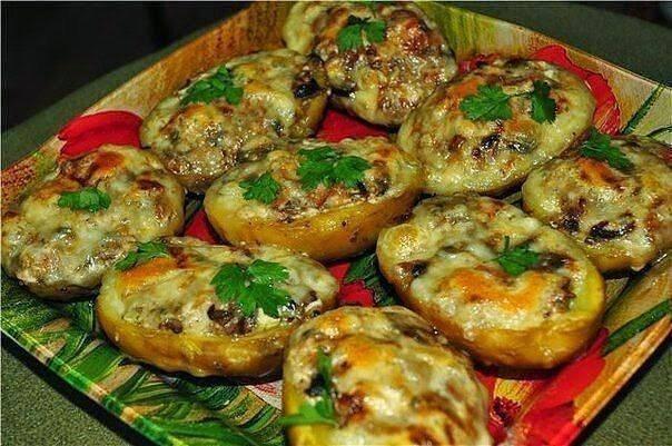 Блюда из картошки в мундире