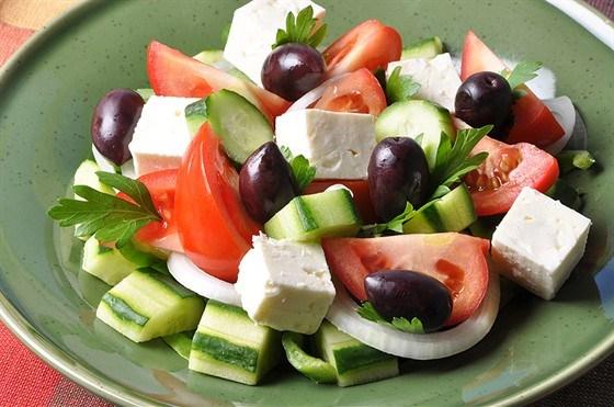 Простой рецепт салат греческий