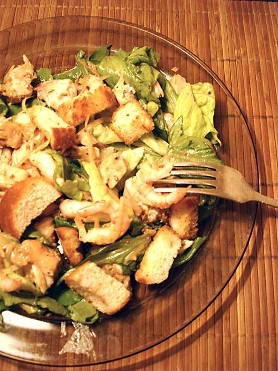 Цезарь с курицей рецепт соус с горчицей