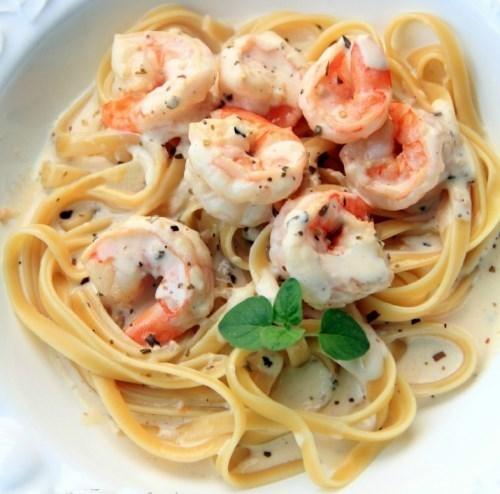 рецепт итальянской пасты с морепродуктами