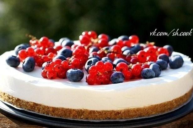 ягодный торт рецепт