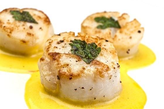 Блюда из морского гребешка