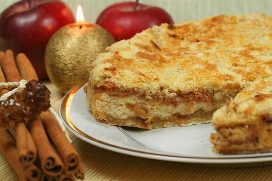 бисквит с яблоками и корицей вкусный рецепт