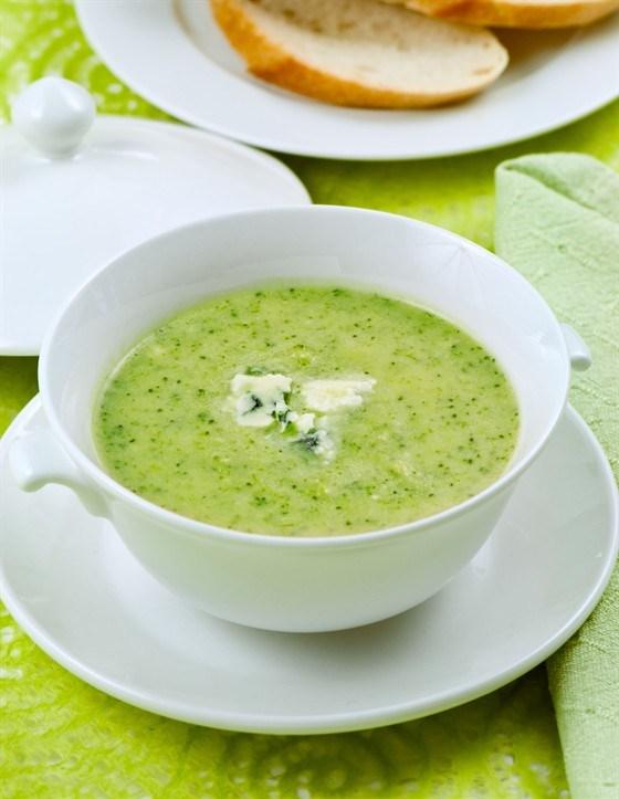 Суп из брокколи капусты рецепты с фото