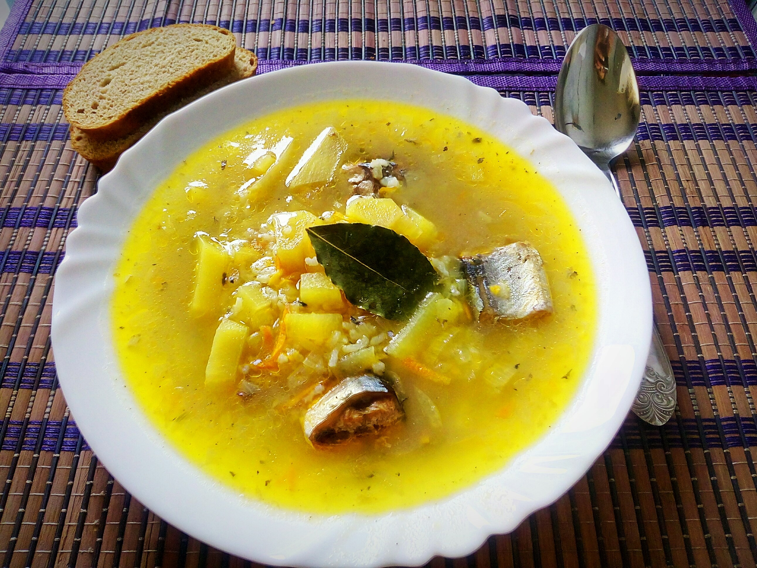 суп с консервой сайрой рецепт для детей