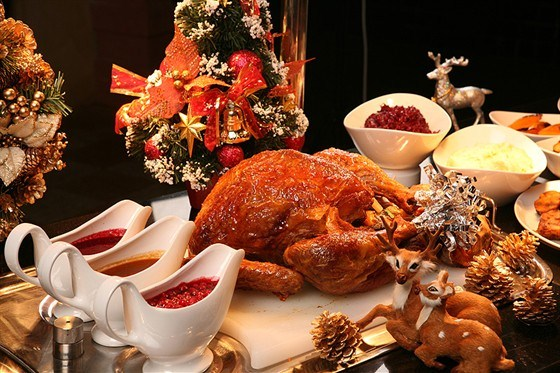 какие блюда на столе на рождество что