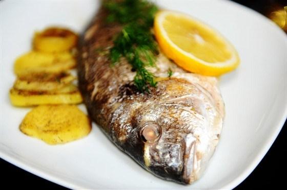 дорадо в духовке с лимоном рецепты с фото