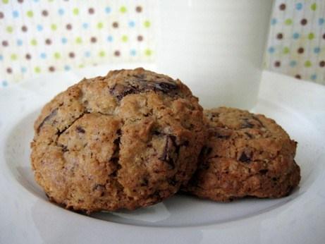 печенье овсяное с шоколадом рецепт с фото