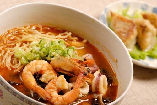 суп удон с креветками рецепт с фото