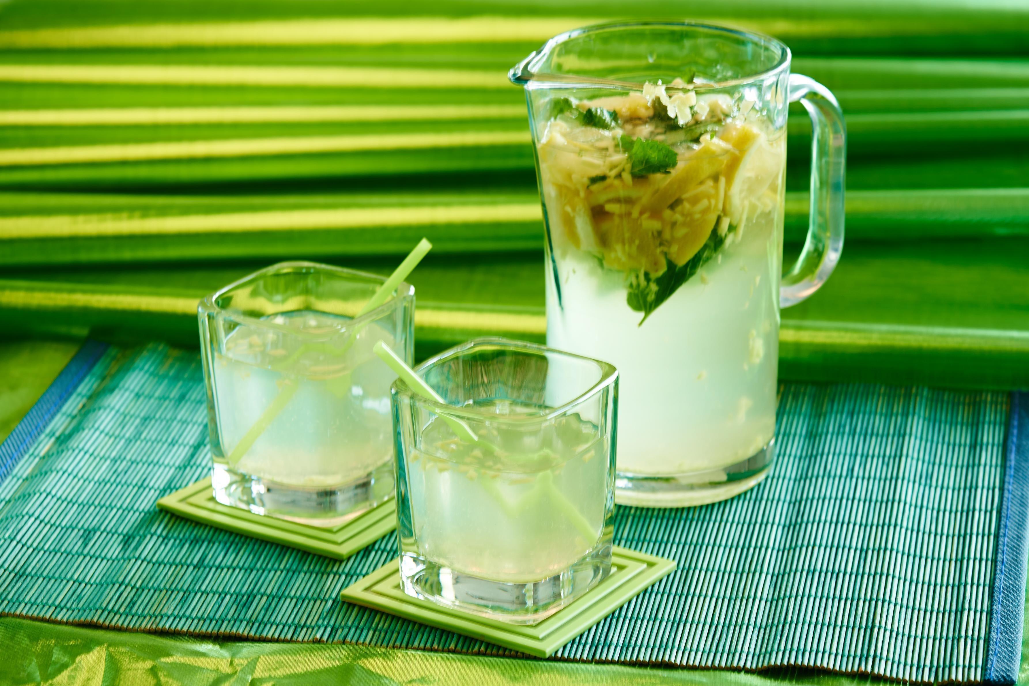 Лимонад из мяты, лайма и лимона в домашних условиях 80