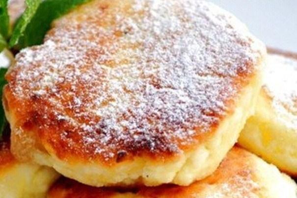 Творожники рецепт классический на сковороде с яблоками