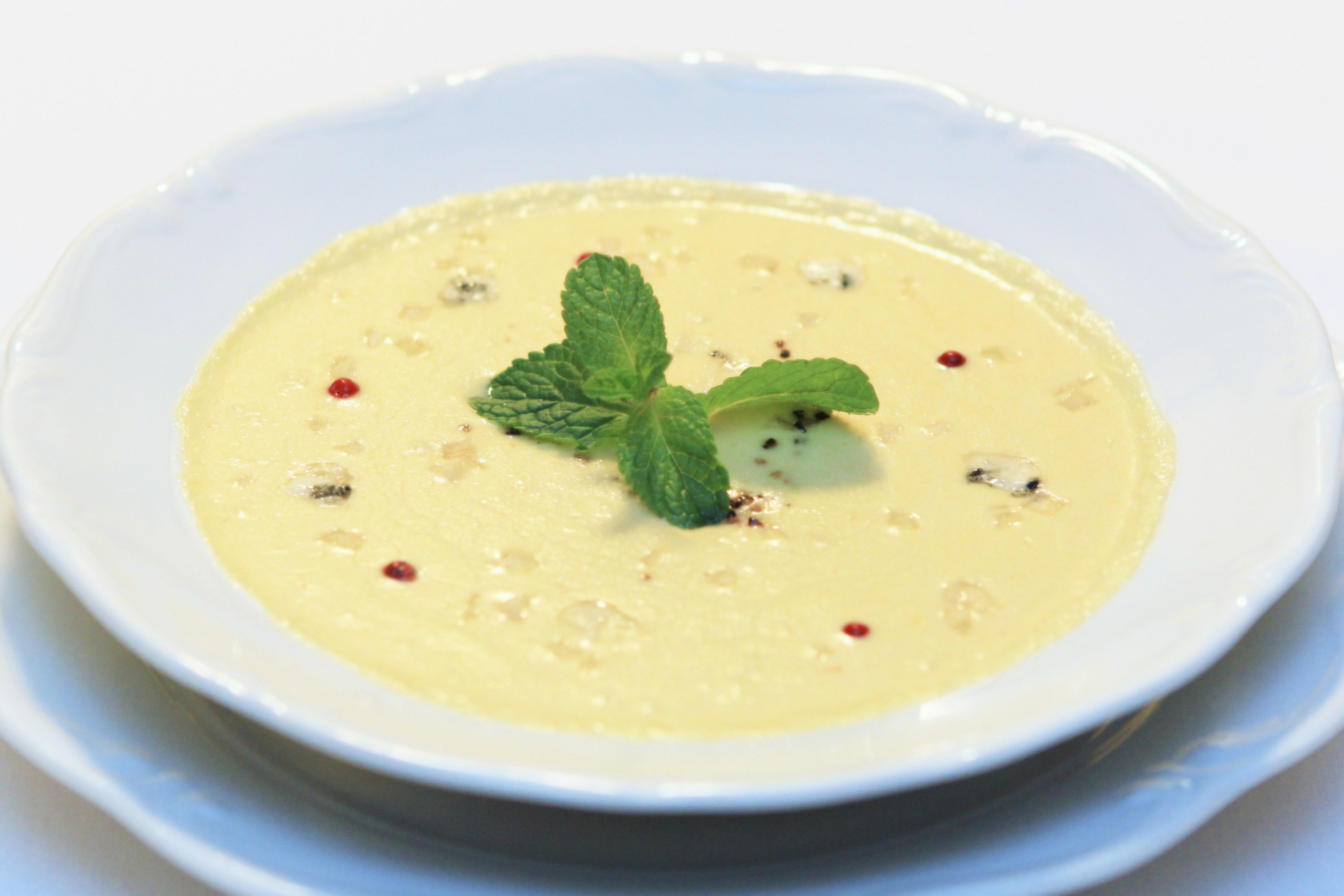 Крем суп из сельдерея со сливками