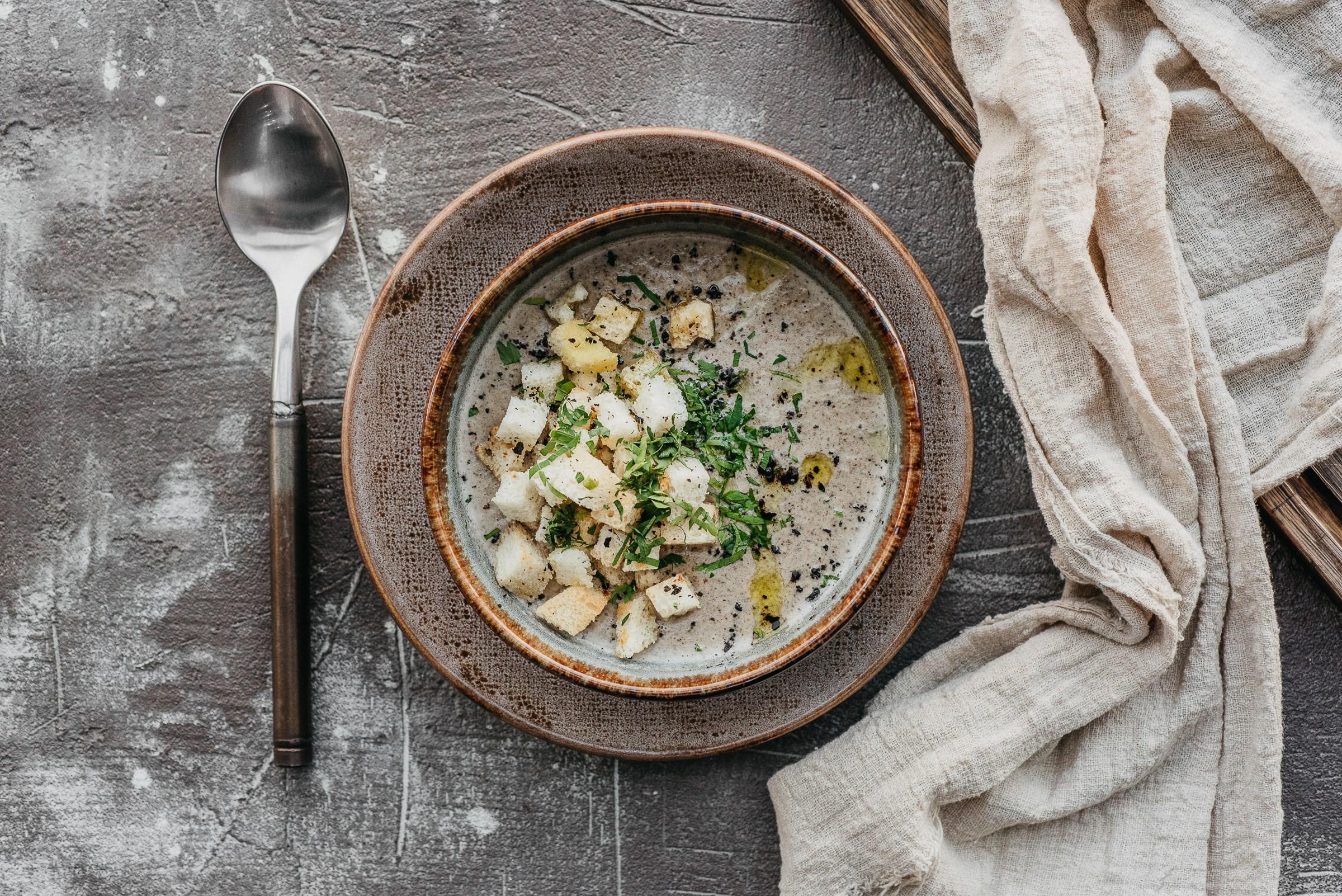 удивила грибной крем суп рецепт с фото того, мужчина
