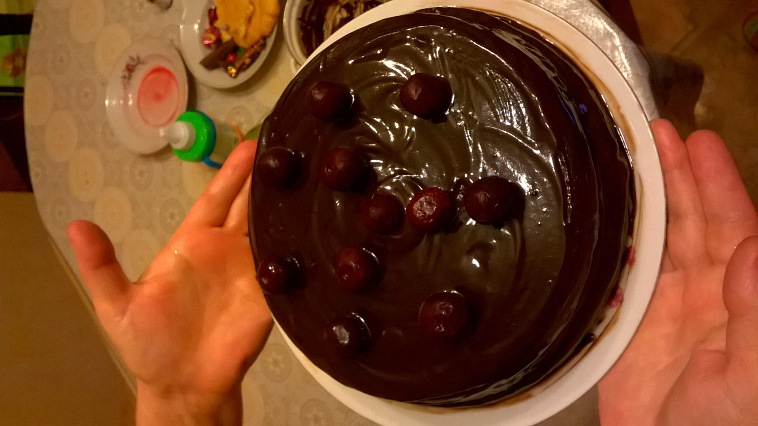 Вишневый кули для торта рецепт пошагово