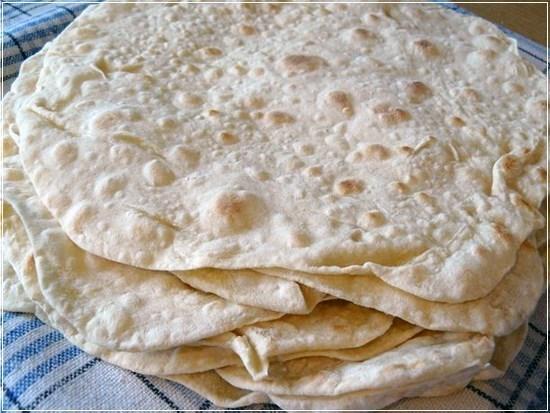 Тесто для тонкого лаваша для шаурмы