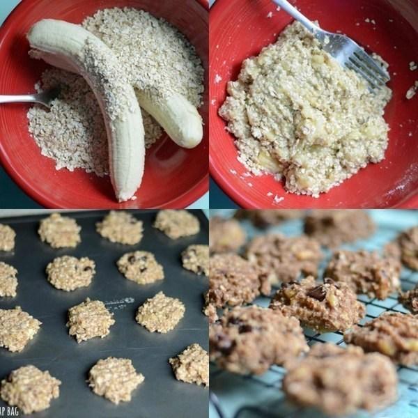 печенье с бананом рецепт с фото