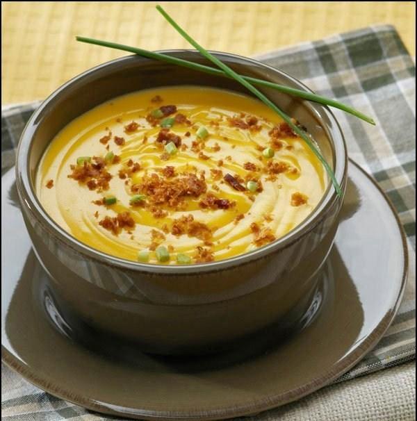 сырный крем-суп с шампиньонами рецепт с фото