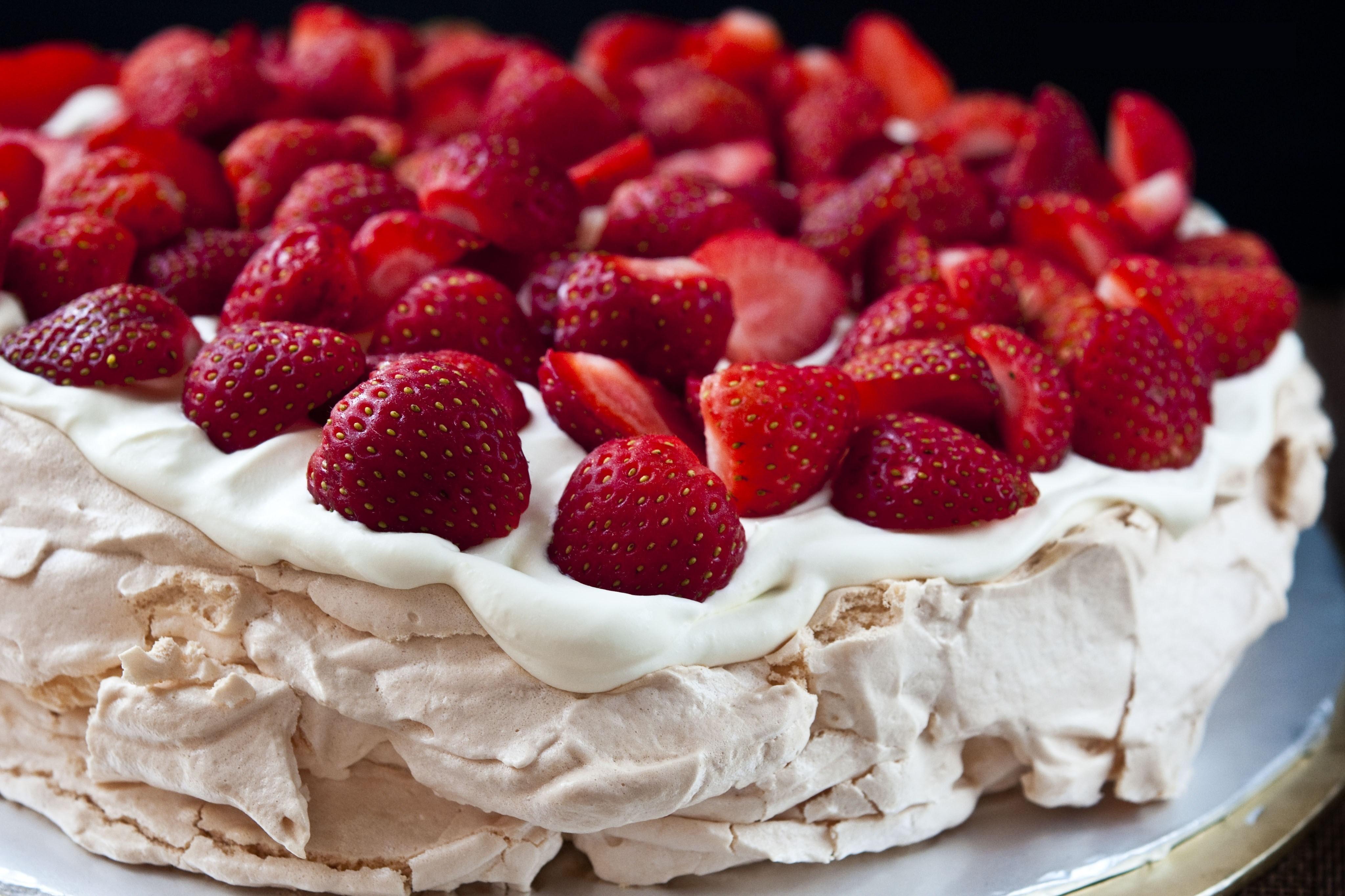 торт павлва рецепт з фото