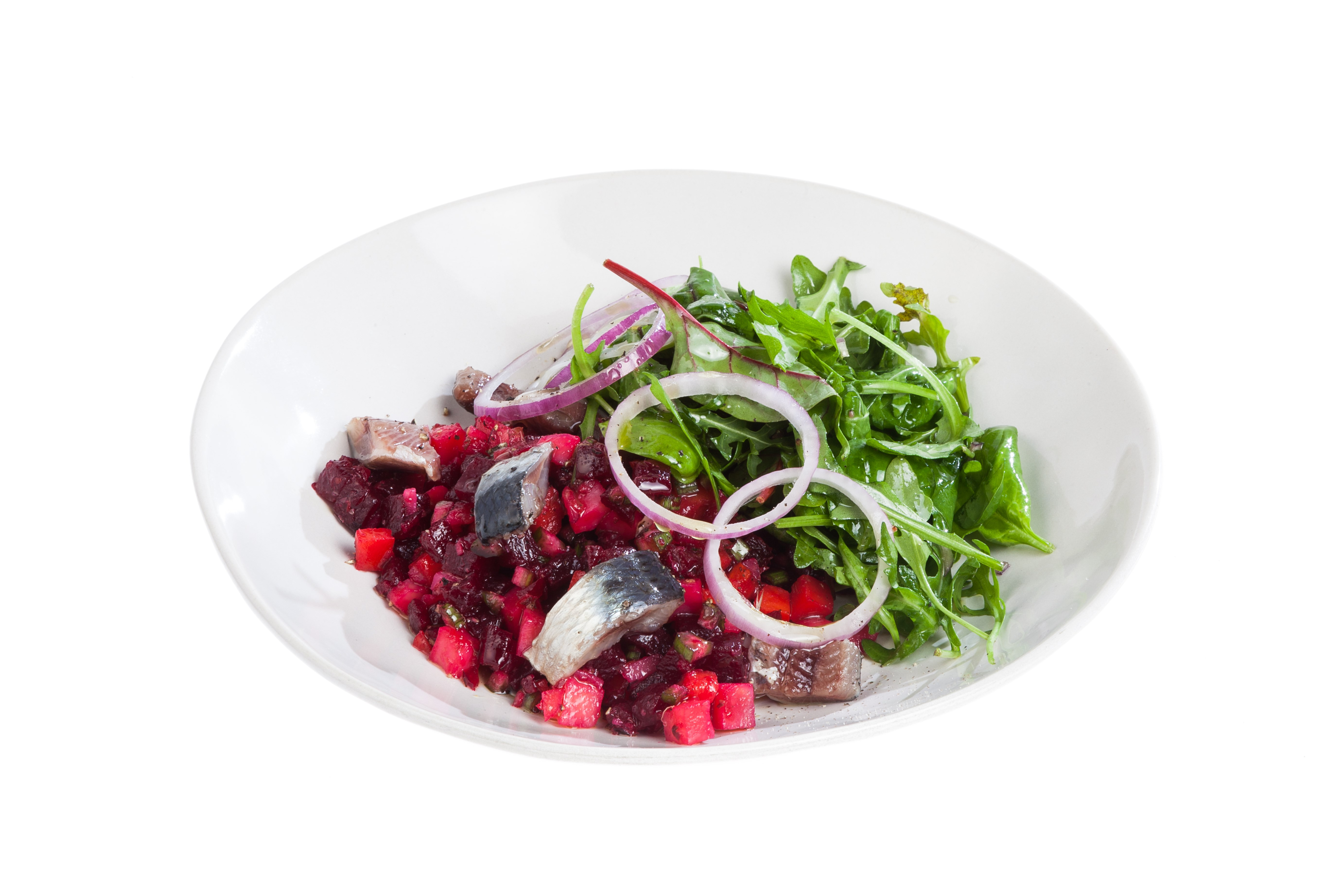 Винегрет с оливками каперсами мясом рецепт