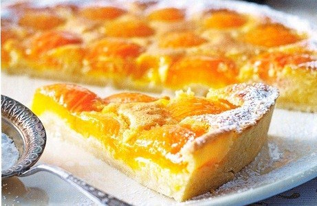 бисквит с абрикосами рецепт