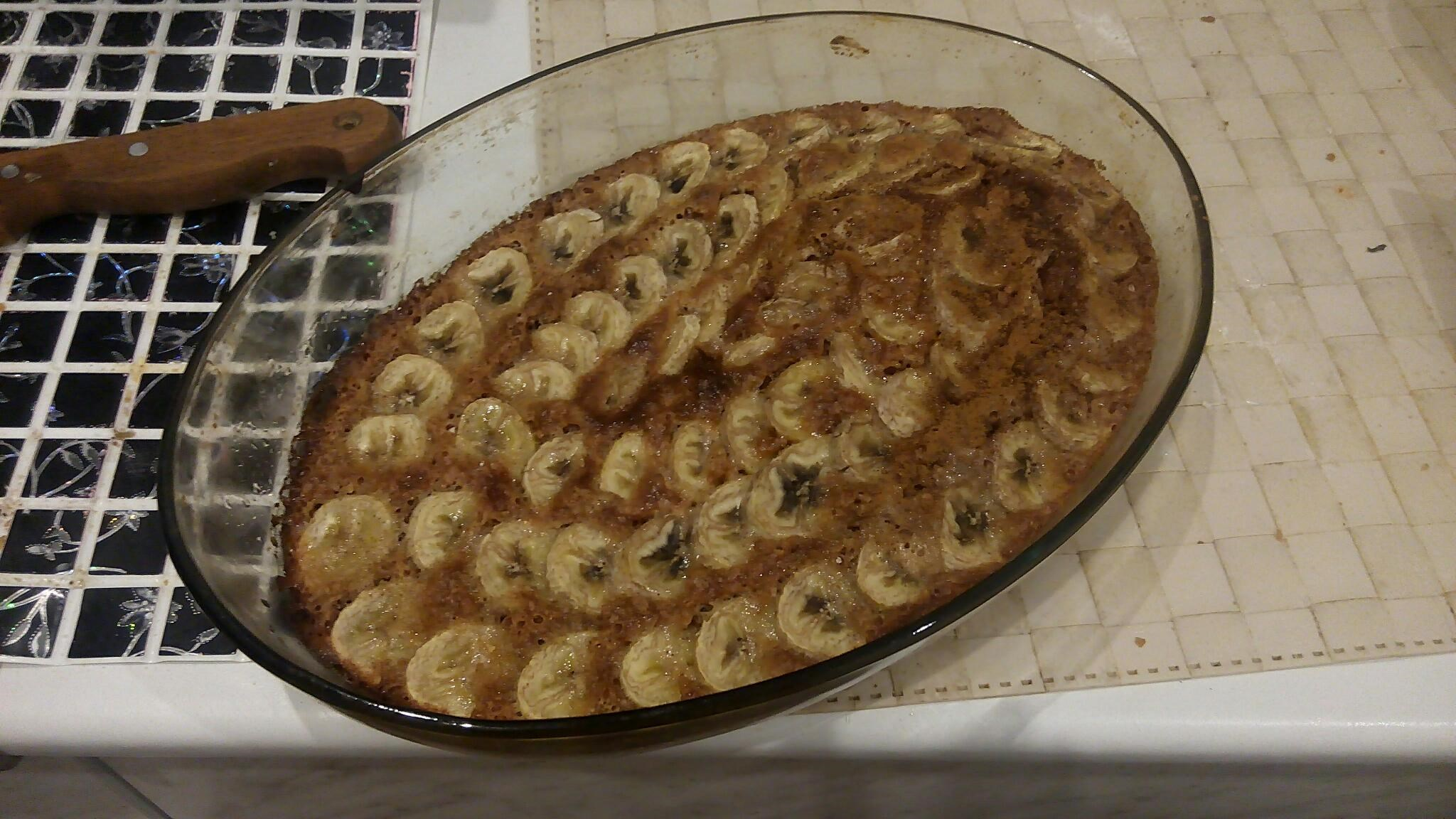 Банановый пирог - Пошаговый рецепт с фото Выпечка