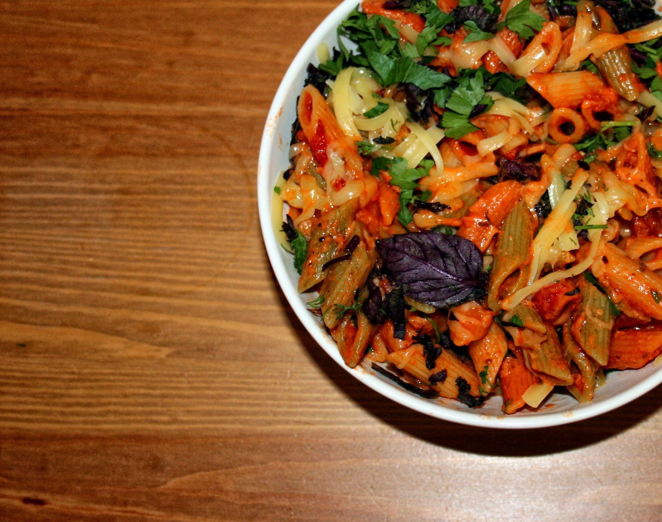 Как сделать макароны с томатной пастой фото 707