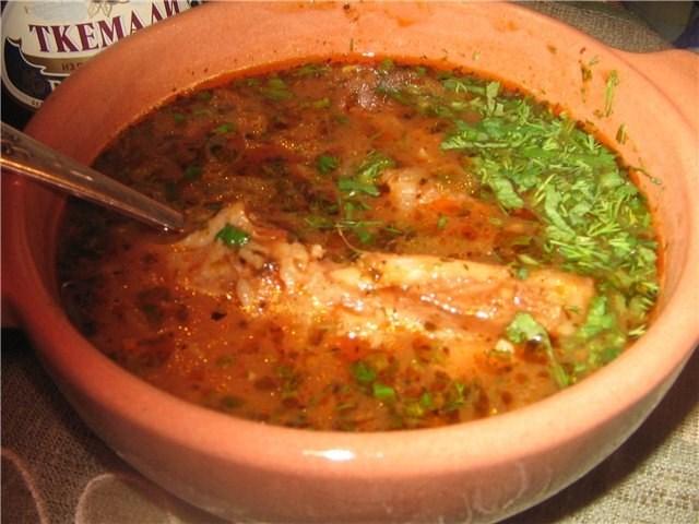 Рецепты супов харчо пошагово