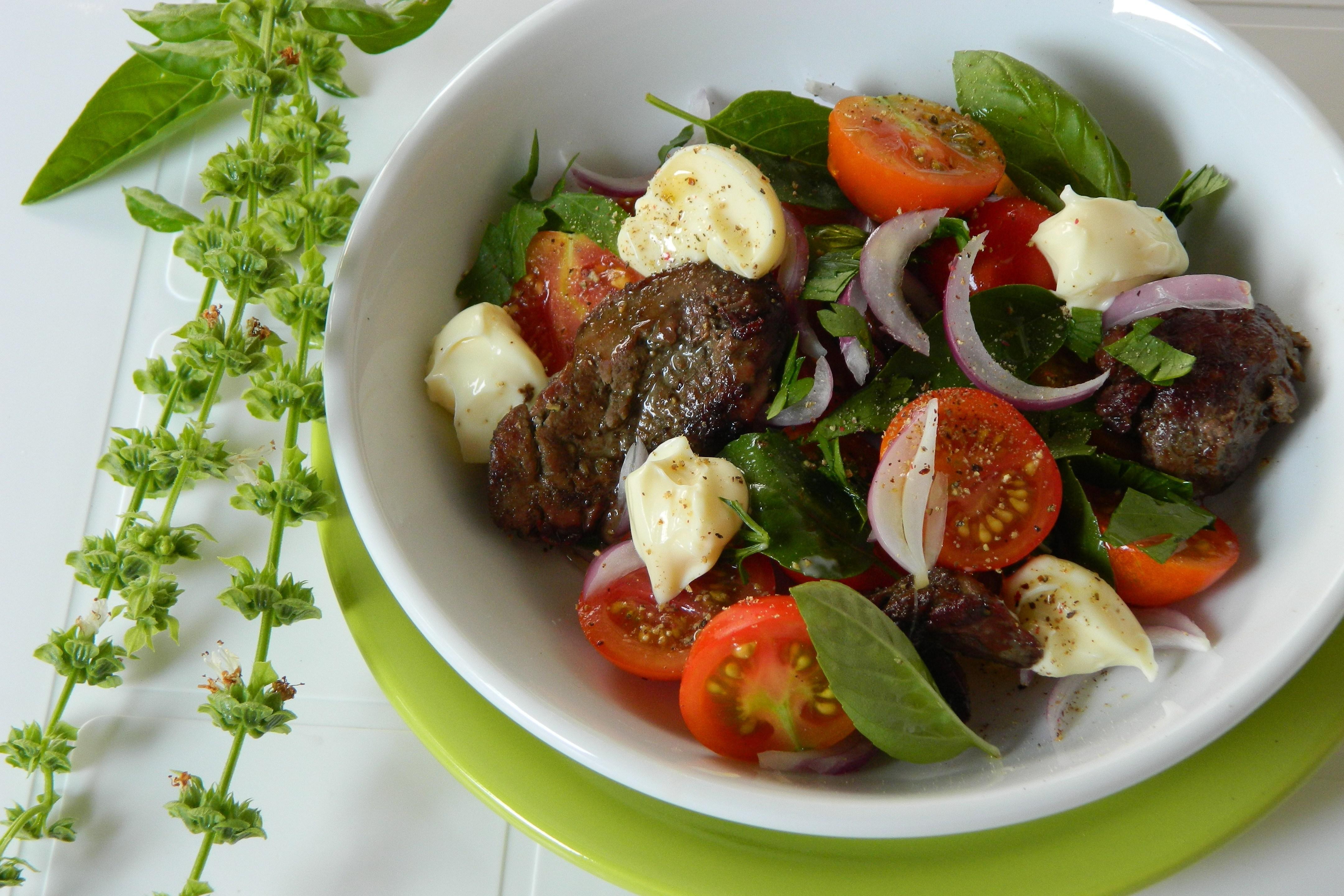 Салат с куриной рецепт с