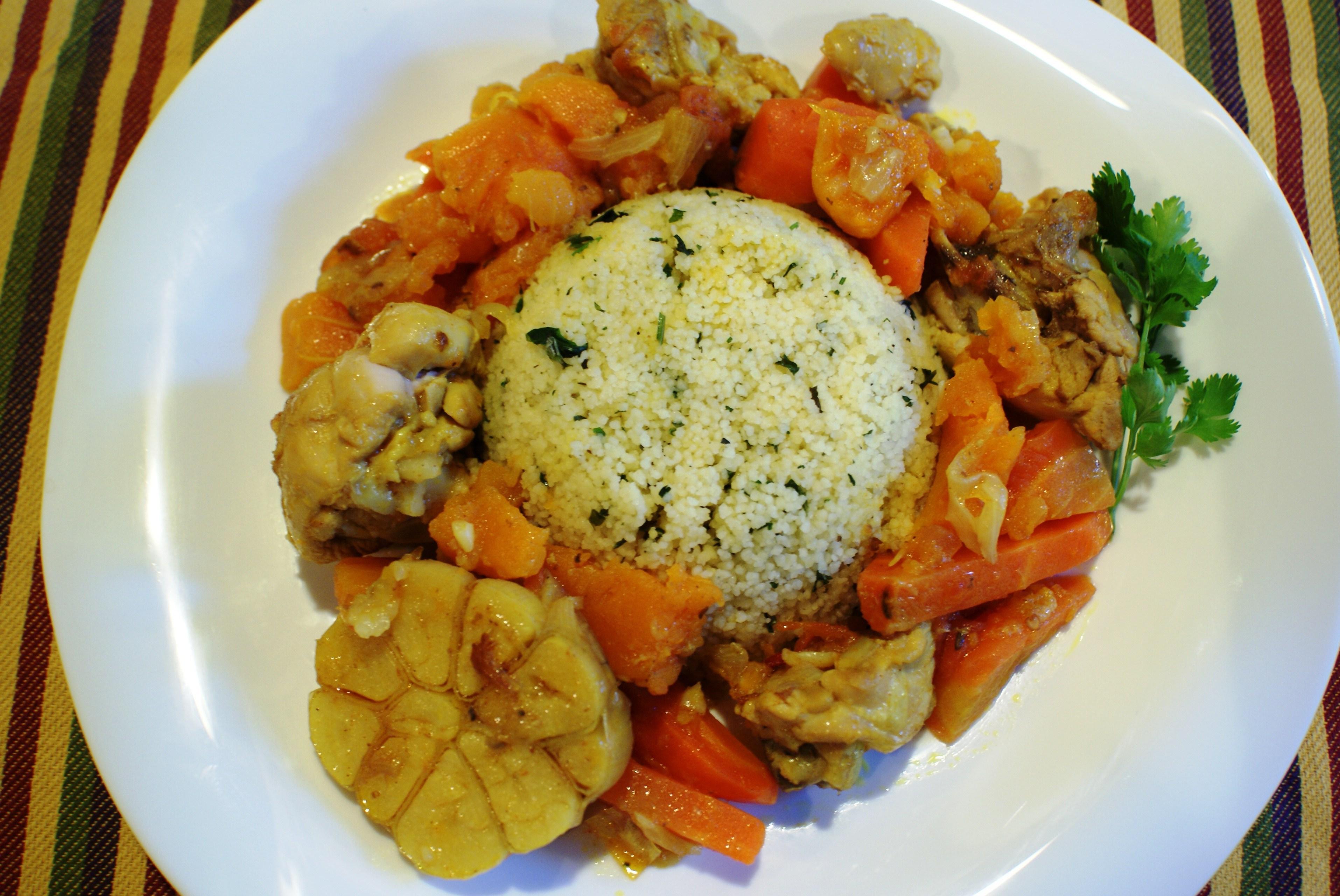 Курица по мароккански рецепт