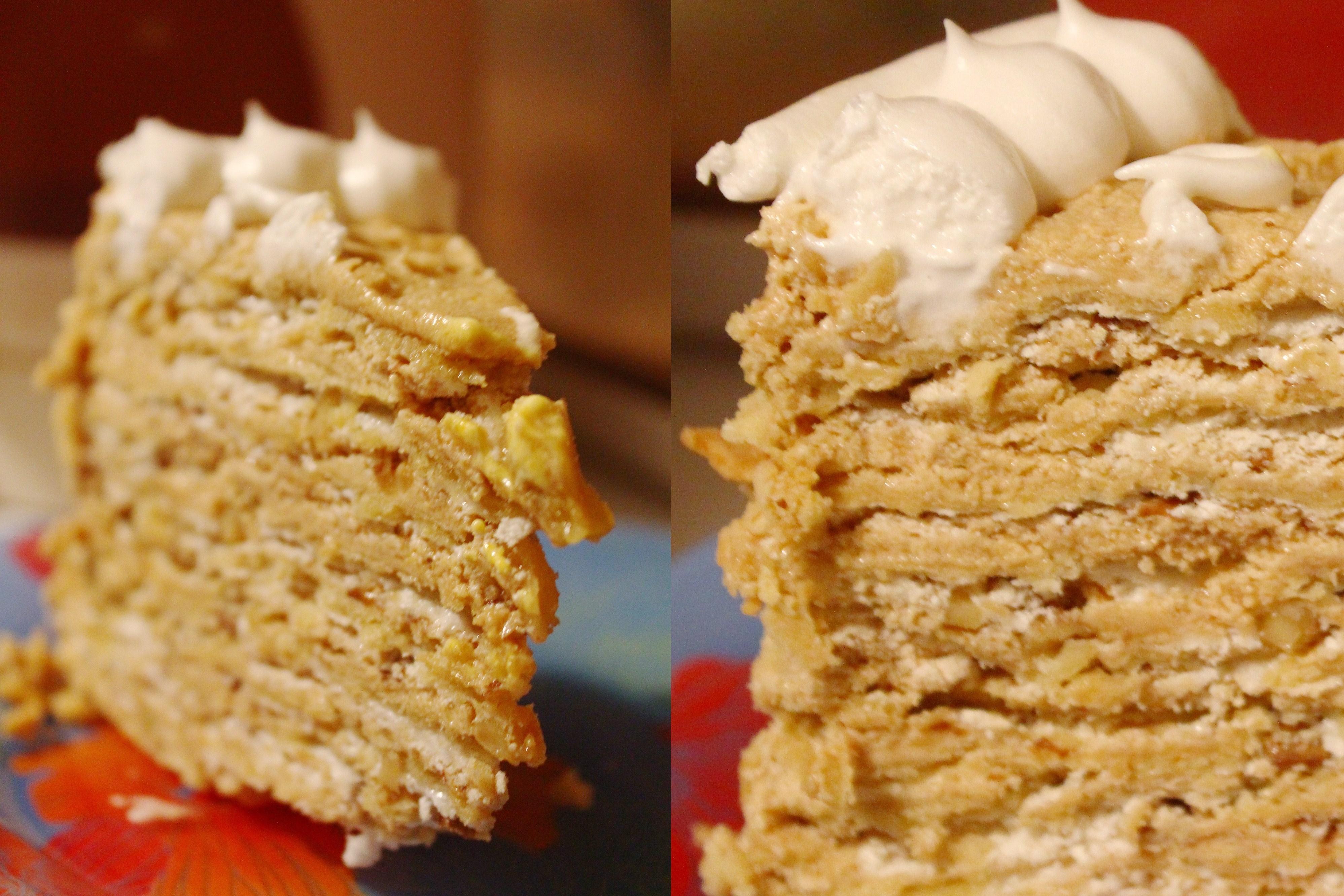Торт королевский безе рецепт пошагово